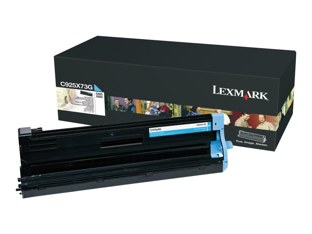 Lexmark Cyan Imaging Unit for C925de Printer & X925de MFP, C925X73G, 12117994, Toner and Imaging Components