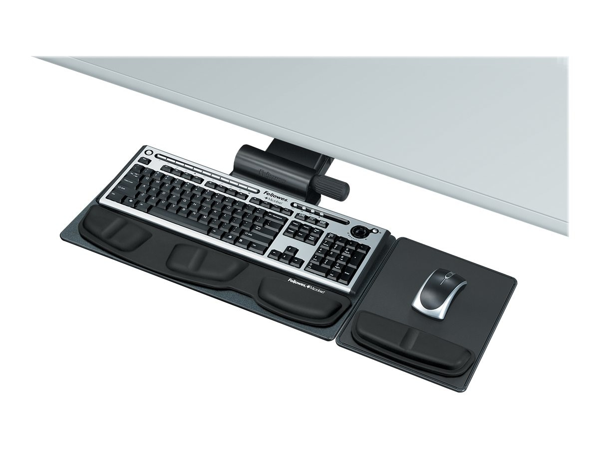 Fellowes Professional Series Adjustable Keyboard Tray, 8036001, 7424199, Ergonomic Products