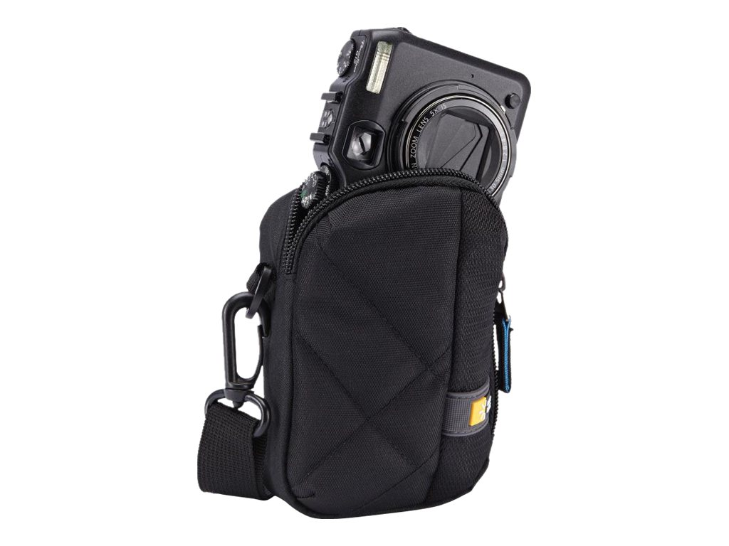 Case Logic Medium Camera Case, Black, CPL-102BLACK, 20076459, Carrying Cases - Camera/Camcorder