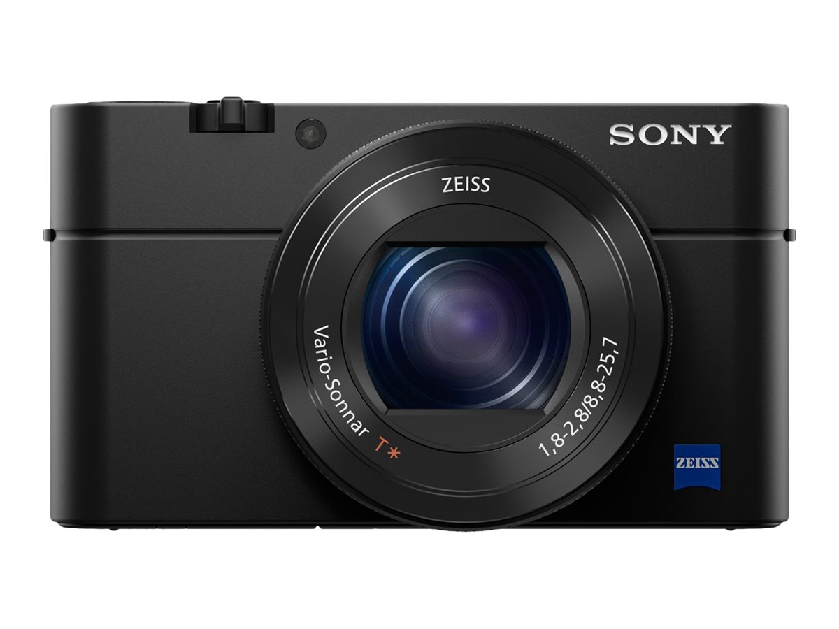 Sony Cyber-Shot DSC-RX100 IV Digital Camera, 2.9x Zoom, 20.1MP, Black