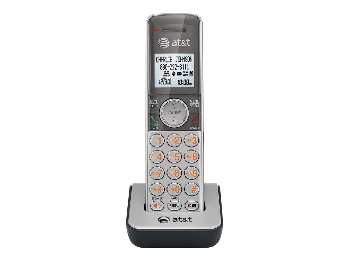 AT&T Accessory Handset with Caller ID Call Waiting, CL80101, 12555901, Telephones - Consumer