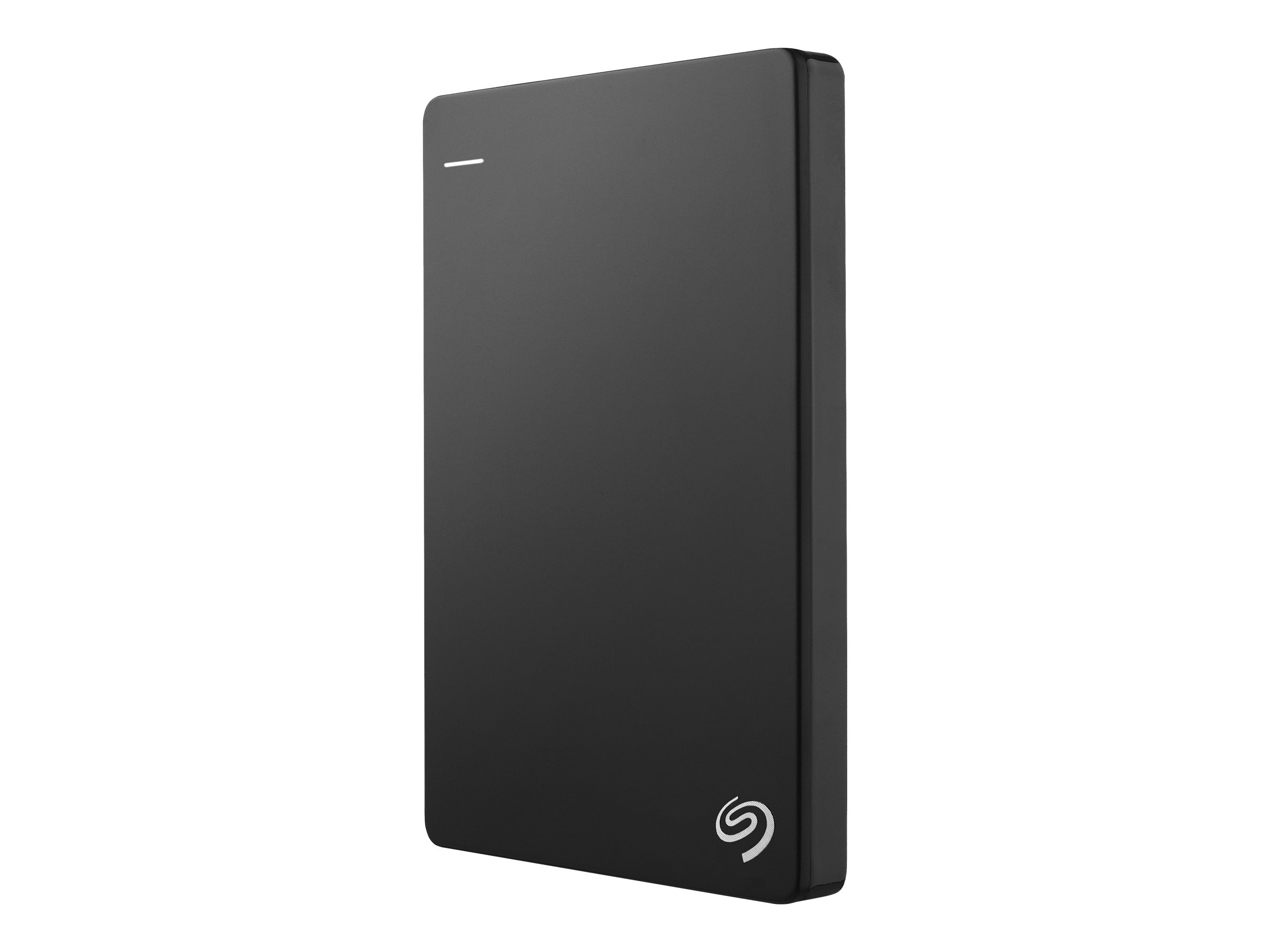 Seagate 1TB Backup Plus USB 3.0 Slim Portable Hard Drive - Black, STDR1000100, 16573911, Hard Drives - External