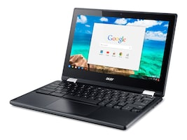Acer Chromebook C738T-C44Z Celeron N3150 1.6GHz 4GB 16GB ac BT WC 11.6 HD MT Chrome, NX.G55AA.005, 30823315, Notebooks - Convertible