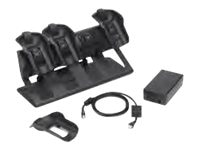 Zebra Symbol Desk Ready MC9500 4-Bay Ethernet Cradle Kit, CRD9501-401EES, 15002640, Battery Chargers