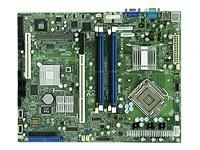 Supermicro Motherboard, 3210, Xeon QC, 1333MHz, ATX, Max 8GB DDR2, PCIEX8, PCI, PCIX, 2GBE, Video, SATA, X7SBI, 8172528, Motherboards