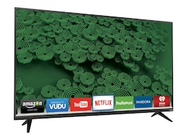 Vizio 40 D40U-D1 4K Ultra HD LED-LCD Smart TV, Black, D40U-D1, 31159330, Televisions - Consumer