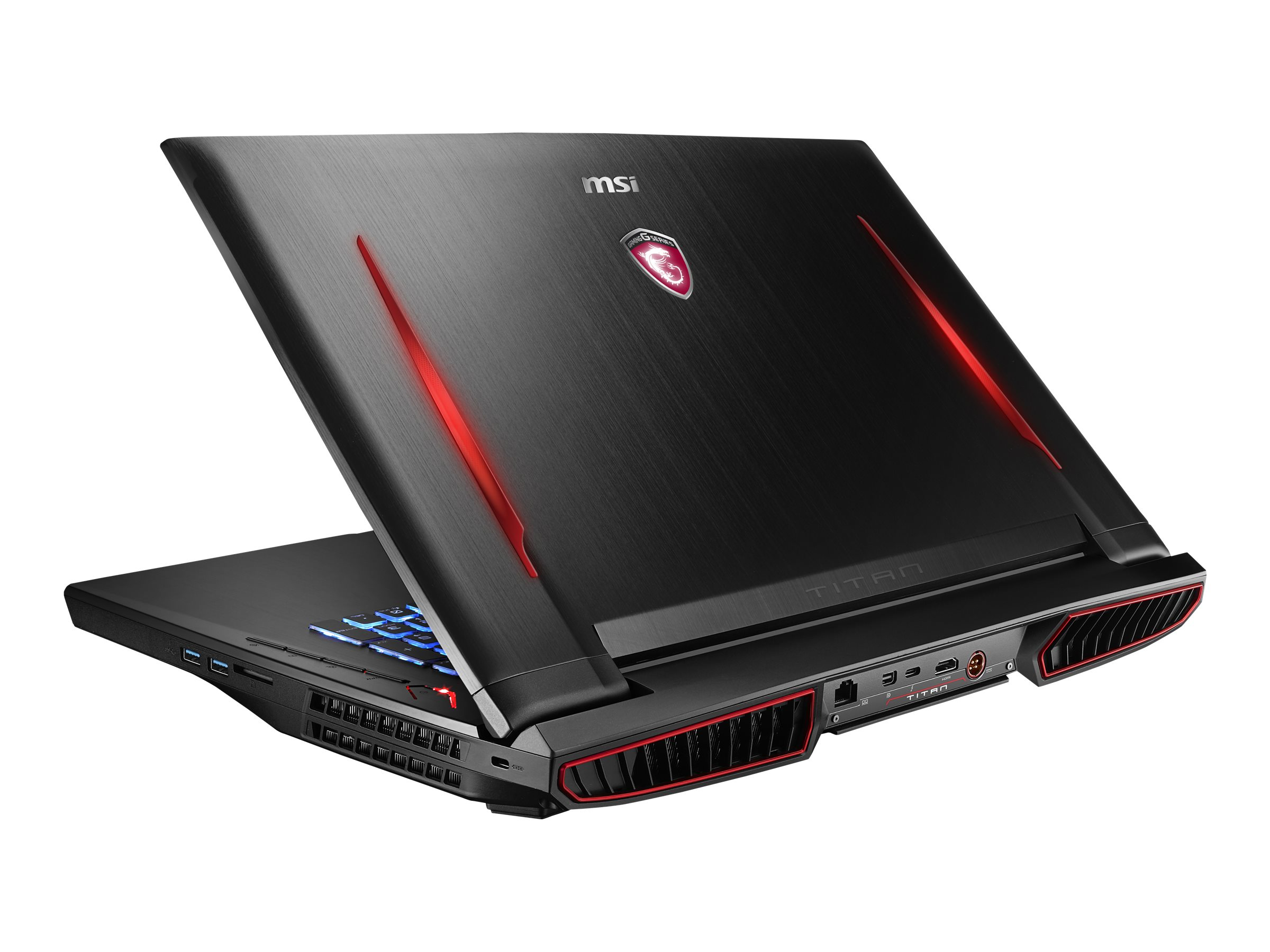 MSI Bundle GT73VR Titan Pro-201 w PC Starter and Mouse, GT73VR TITAN PRO-201