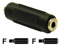 C2G 3.5mm Stereo Coupler F-F, 03170, 400972, Adapters & Port Converters