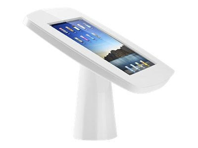 Tryten iPad Kiosk in white, T2425W