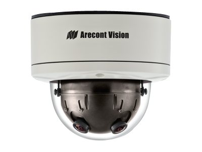 Arecontvision 12MP WDR Day Night H.264 360 Degree Camera, AV12366DN
