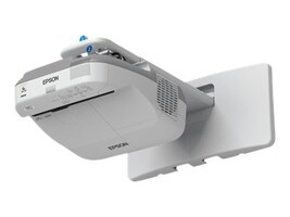 Epson BrightLink 575Wi Interactive WXGA 3LCD Projector, 2700 Lumens, White, V11H601022, 16892306, Projectors