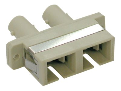 Tripp Lite Fiber Optic Cable Coupler, SC-ST, Duplex, N456-000, 4802941, Cables
