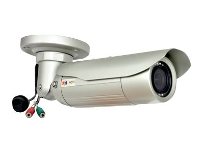Acti 3MP Bullet with D N, Adaptive IR, Superior WDR, Vari-focal lens, E46A, 19911349, Cameras - Security