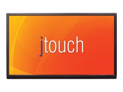 InFocus 80 JTouch 4K Ultra HD LED-LCD Touchscreen Display, Black, INF8002, 31208816, Monitors - Large-Format LED-LCD