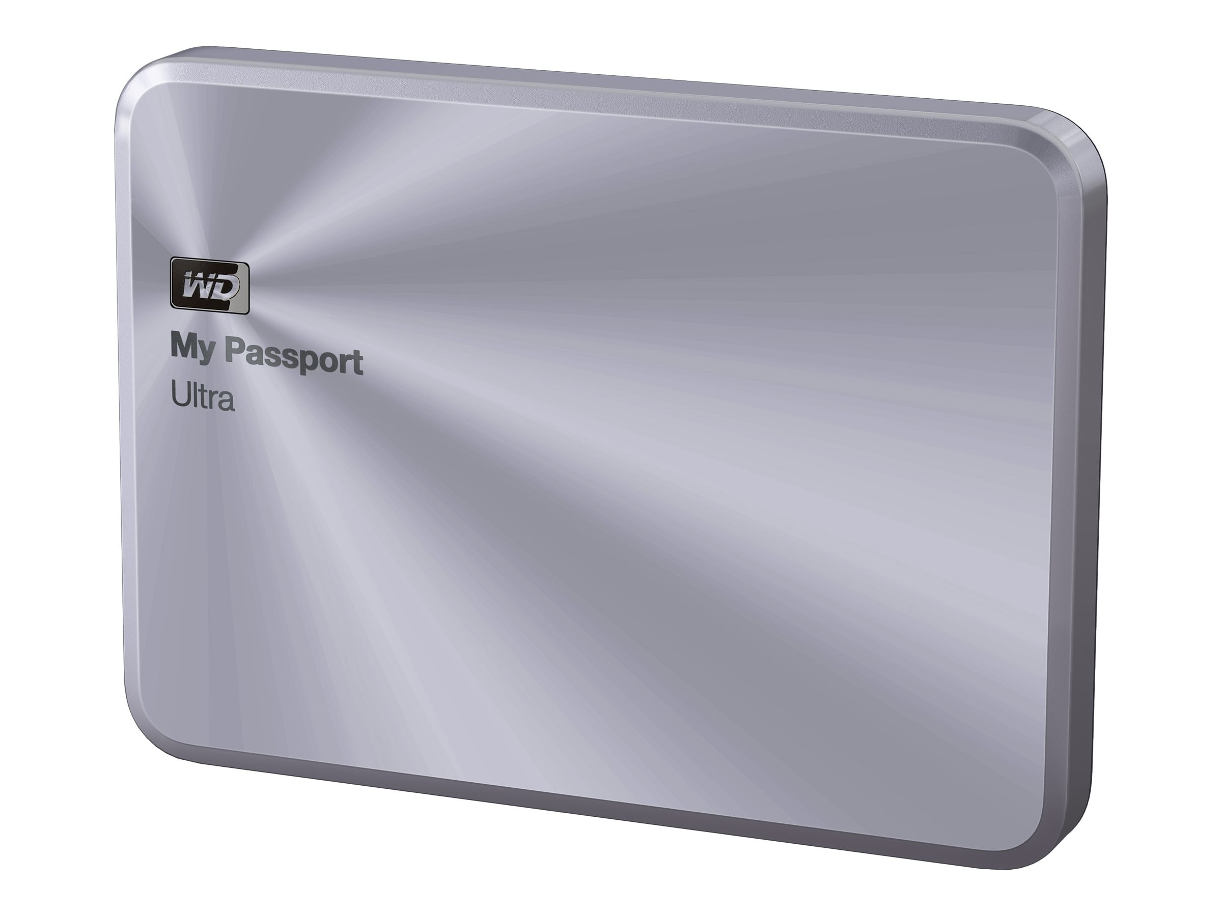 WD 4TB My Passport Ultra Metal Edition USB 3.0 Portable Hard Drive - Silver