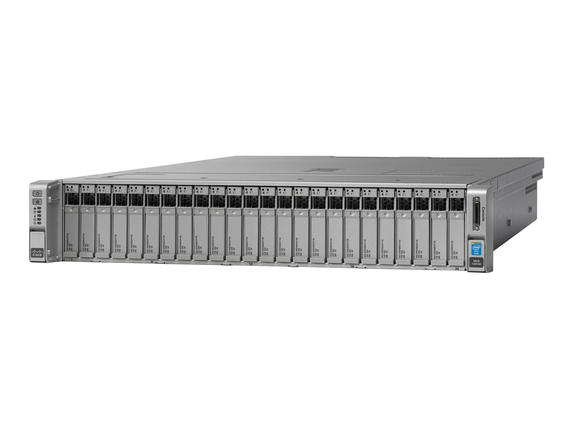 Cisco UCS C240 M4S (2x)E5-2650 v4 2x32GB MRAID 2x1200W 32GB SD Rails