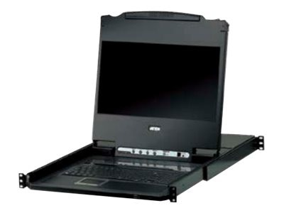 Aten 17 Wide Screen LCD 8-Port KVM