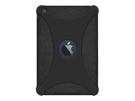 Amzer Silicone Skin Jelly Case for iPad Mini, Black, AMZ94581, 14977912, Carrying Cases - Tablets & eReaders