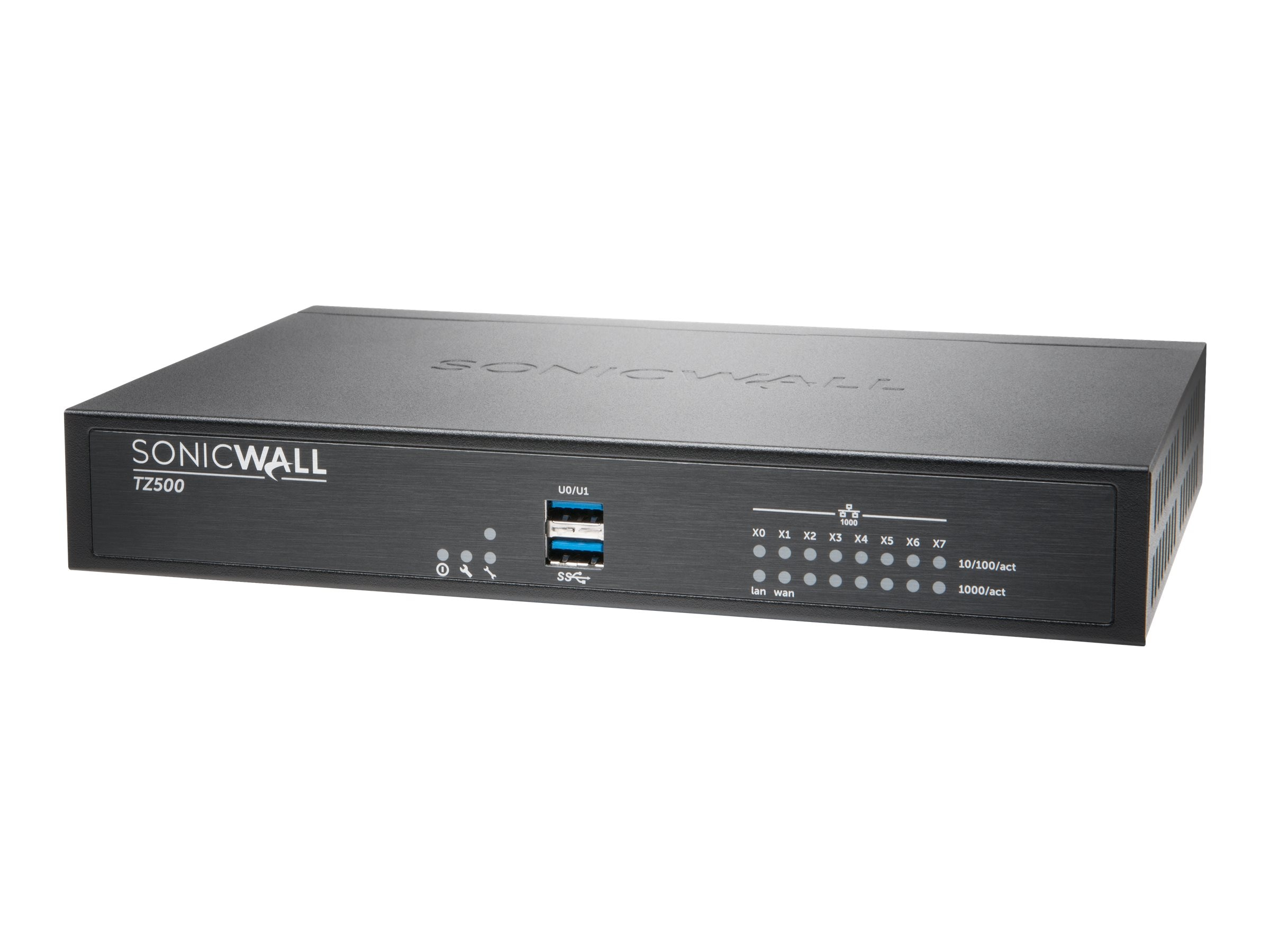 SonicWALL SonicWALL TZ500 Firewall with Secure Upgrade Plus (2 Years)