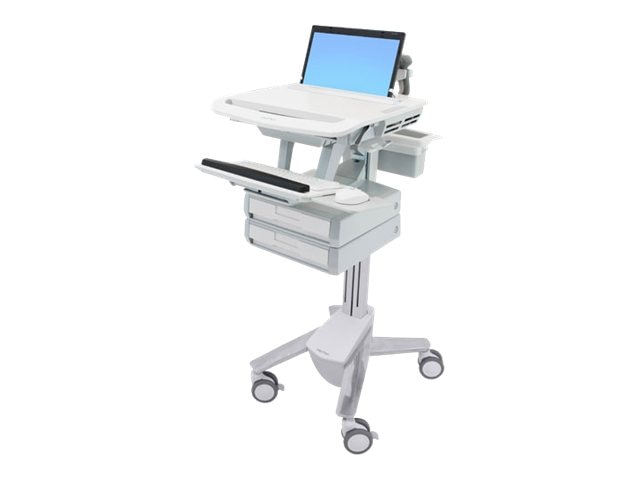 Ergotron StyleView Laptop Cart with 2 Drawers, SV41-3120-0, 15053236, Computer Carts - Medical
