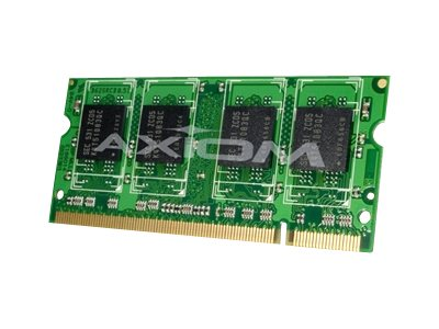 Axiom 1GB PC2-3200 DDR2 SDRAM SODIMM, TAA, AXG11990802/1