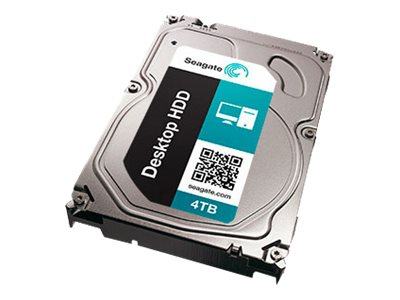Seagate 4TB Desktop HDD.15 SATA 6Gb s Internal Hard Drive Kit, STBD4000400