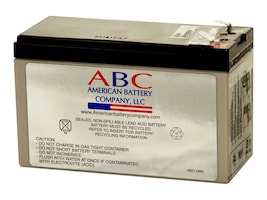 American Battery Replacement Battery Cartridge RBC2 for select APC BK and BP 250-500VA Models, RBC2, 462075, Batteries - Other