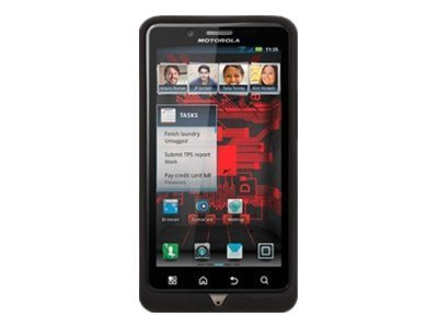 Griffin Reveal Ultra-Thin Hard-Shell Case for Droid Bionic, Black, GB03273, 14239207, Carrying Cases - Phones/PDAs