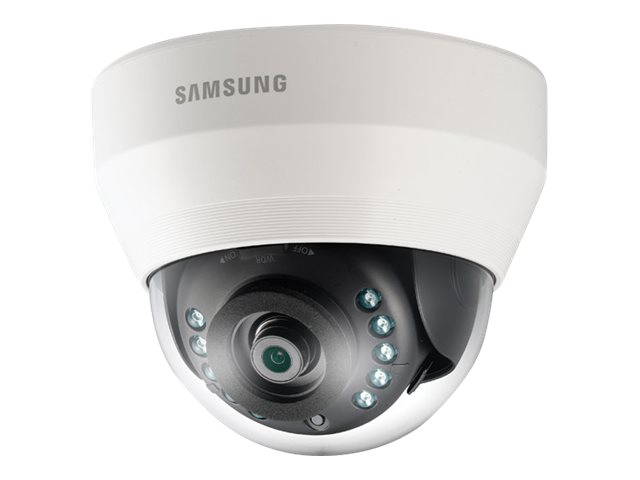 Samsung Full HD Indoor IR Dome Camera, White