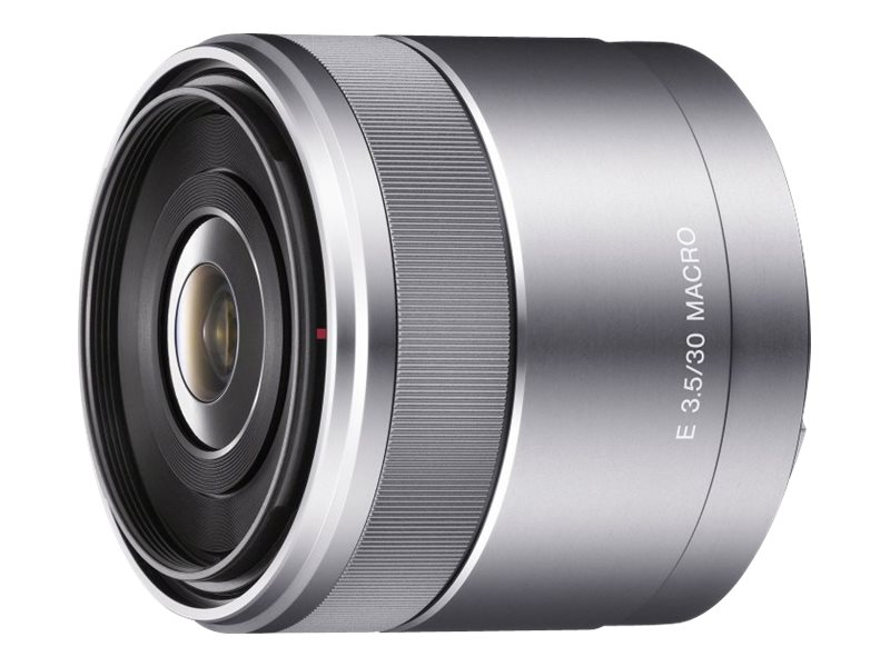 Sony SEL30M35 Digital SLR Camera Lens, Silver, SEL30M35, 12942783, Camera & Camcorder Lenses & Filters