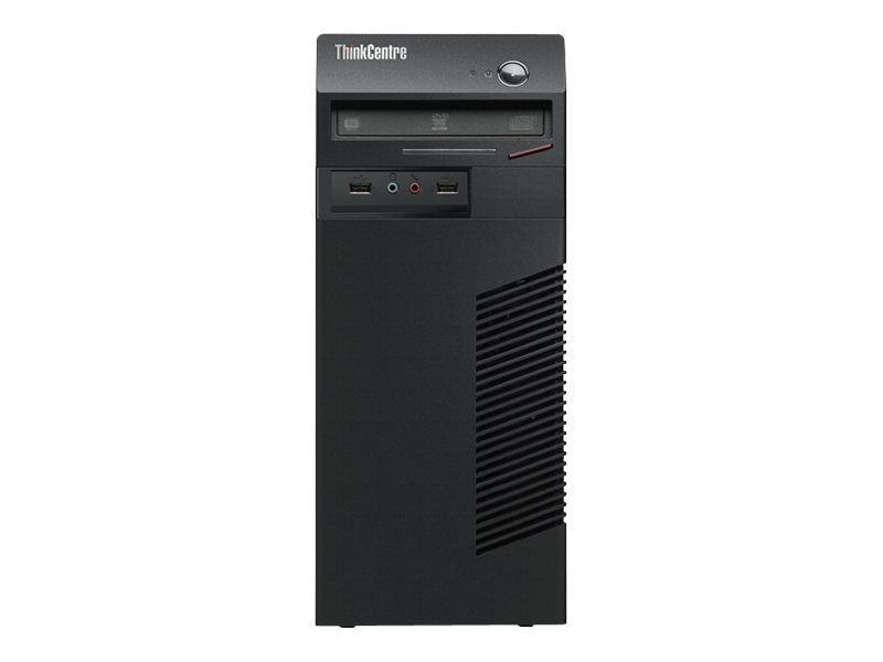 Scratch & Dent Lenovo ThinkCentre M79 Tower AMD DC A4-6300B 3.7GHz 4GB 500GB HD8370D DVD SM GbE W7P64-W8.1P, 10CN0000US, 31426400, Desktops