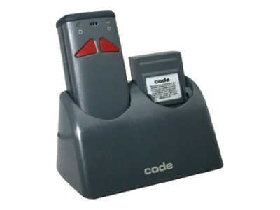 Code Corporation Battery Charger, Dual Bay
