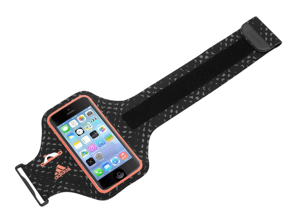 Griffin Adidas Armband for iPhone 5, Black Red, GB40517, 18493886, Carrying Cases - Phones/PDAs