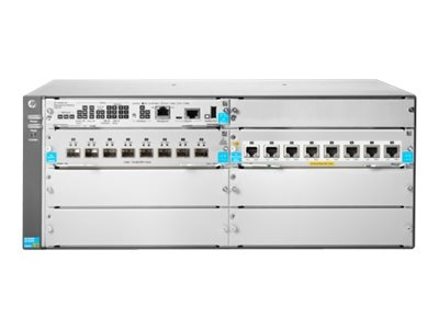 HPE 5406R 8-Port 10GbE SFP+ V3 ZL2 Switch w 8x 10GBase-T PoE+