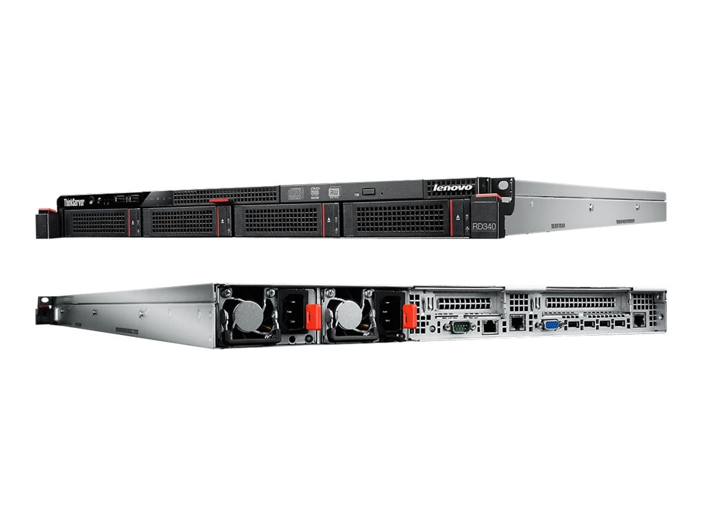 Lenovo ThinkServer RD340 Intel 1.8GHz Xeon, 70AA0000US