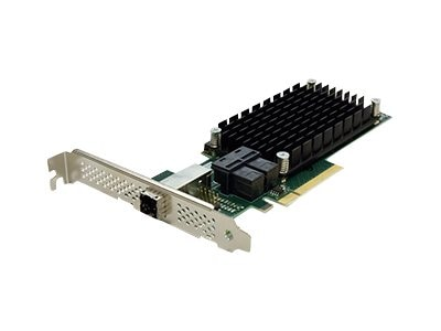 Atto 4-Port External 8-Port Internal 12Gb s SAS SATA to PCIe 3.0 Host Bus Adapter
