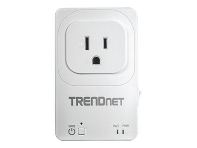 TRENDnet Home Smart Switch w Wireless Ext, THA-101