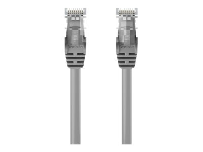 Belkin Cat5e Patch Cable, Gray, Snagless, 7ft, A3L791-07-S