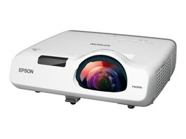 Epson PowerLite 530 XGA 3LCD Projector, 3200 Lumens, White, V11H673020, 18101184, Projectors