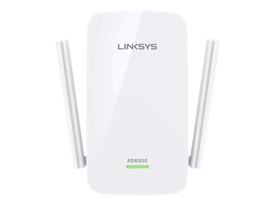 Linksys AC750 Boot Wi-Fi Range Extender, RE6300, 30842663, Wireless Antennas & Extenders