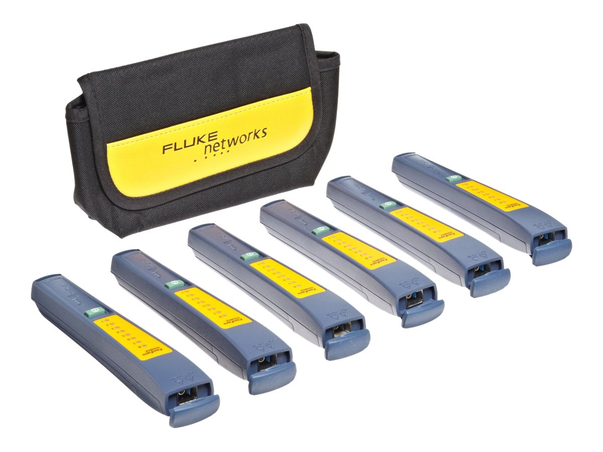Fluke SimpliFiber Pro FindFiber Remote ID Component, 6 Pack, FINDFIBER-6, 9240764, Network Test Equipment