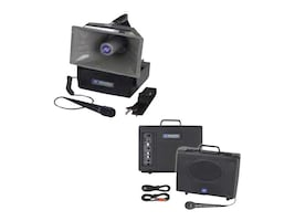 AmpliVox Titan Portable PA Bundle w  HH Mic, SW800, Speakers, Tripods & Case, SB8001, 17413354, Music Hardware