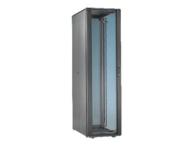 Panduit Net-Access S-Type Cabinet, Top Panel, Front Rear Doors, Side Panels, Casters, Black, S7522BF