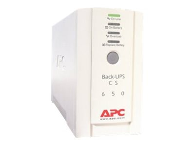 APC Back-UPS CS 650VA 400W 230V International UPS, BK650EI, 5354342, Battery Backup/UPS