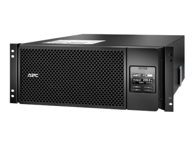 APC Smart-UPS SRT 6000VA 230V Int'l 4U RM HW Input C13 C19 Outlets Extended Runtime, SRT6KRMXLI, 18532241, Battery Backup/UPS