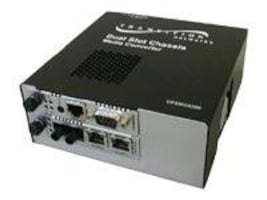 Transition Dual-Slot Point System Chassis, CPSMC0200-200, 398694, Network Transceivers