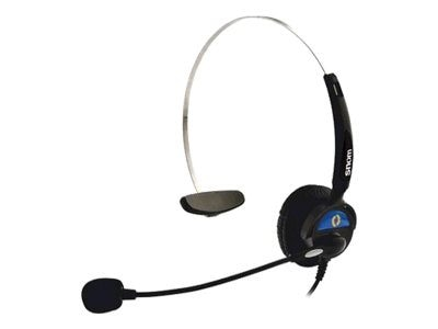 Snom HS-MM2 Monaural Headset, Over-The-Head, HS-MM2, 10665823, Headsets (w/ microphone)