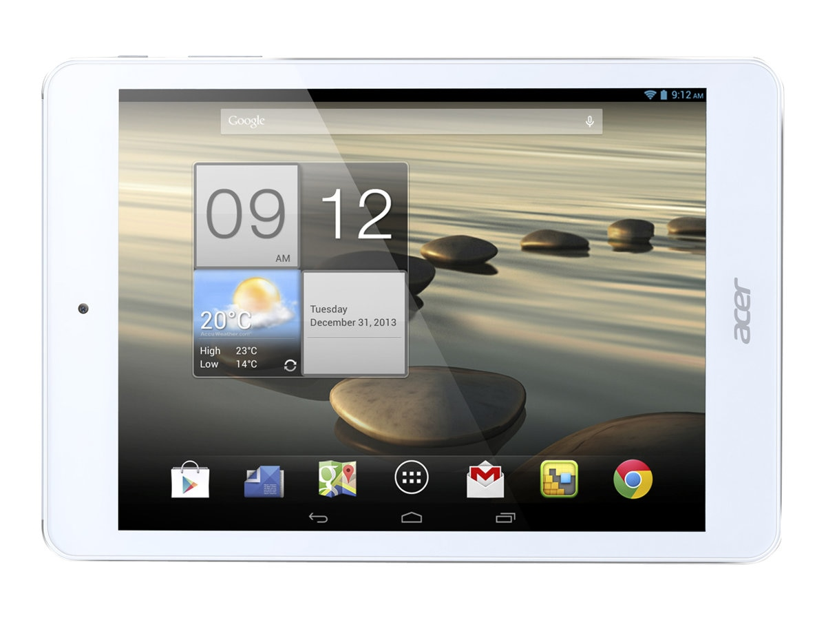 Acer Iconia A1-830-1633 1.6GHz processor Android 4.1 (Jelly Bean), NT.L3WAA.001, 17053521, Tablets