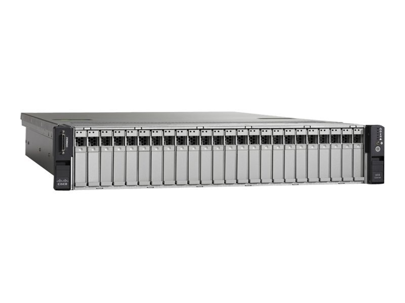 Cisco UCS C240 M3 SFF Dual-8-Core 2.7 GHZ  96GB, UCUCS-EZ-C240M3S, 15658374, Servers