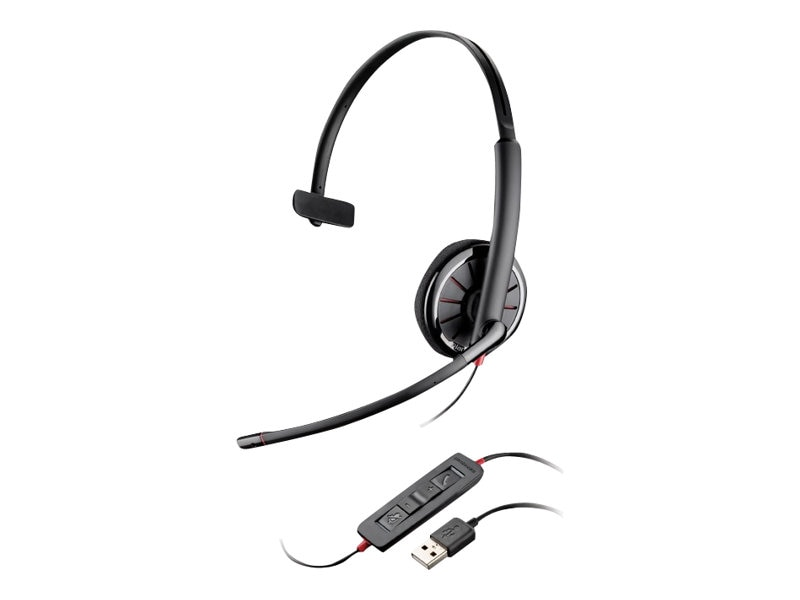 Plantronics C310 Blackwire Headset, 85618-02, 13777564, Headsets (w/ microphone)
